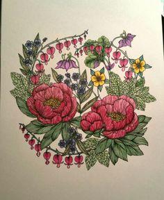 Blomster Mandala book from Sweden