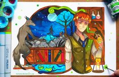 +HP - Remus Lupin+ by larienne on DeviantArt