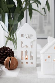 Winter Table Decorations - Kahler Urbania