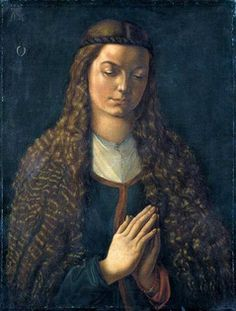 ALBRECHT DÜRER Portrait of a Young Woman 1497 -