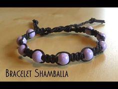 Bracelet Shamballa macramé facile avec perles