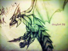 dragão ork , minha criação. minha página no facebook: https://www.facebook.com/Umdragaopordia