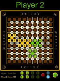 Pit your wits against Sujiko, and against your opponent, to capture more nodes and earn more points, earning for yourself the title of Grand Sujiko Master…