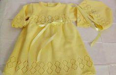 Vestido p/ saida de maternidade