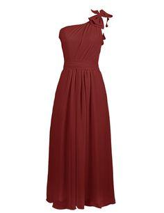 Dresstells® One Shoulder Prom Dress Bridesmaid Dress for Weddings ^^ Review more details here : Bridesmaid Dresses