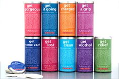 Be Well Teas - The Republic of Teas, love the way the tins tell you what they do. No more guessing