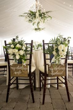 52 Lovely Wedding Chair Decorating Ideas For Ceremony Garden – Home Decoration Outdoor Wedding Decorations, Decor Wedding, Wedding Centerpieces, Professional Wedding Photography, Wedding Trends, Wedding Ideas, Wedding Stuff, Wedding Inspiration, Wedding Planning