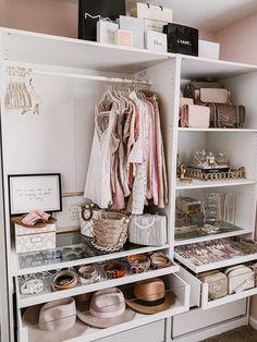 Wardrobe Room, Closet Bedroom, Closet Office, Master Closet, Pax Closet, White Wardrobe, Master Room, Room Ideas Bedroom, Bedroom Decor