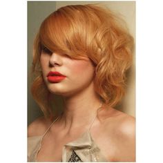 Hair and Makeup Inspiration / I could always go back to my natural strawberry blonde hair color...decisions, decisions found on Polyvore