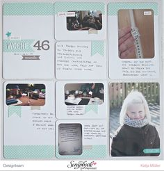 Januar Project Life Kit 2015 - Scrapbook Werkstatt - PL von Katja Müller