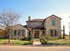 Villa Toscana House Plan Front