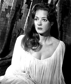 Young Maggie Smith in White Lowcut Blouse English Actresses, British Actresses, Hollywood Actresses, Actors & Actresses, Classic Actresses, Beautiful Actresses, Hooray For Hollywood, Golden Age Of Hollywood, Vintage Hollywood