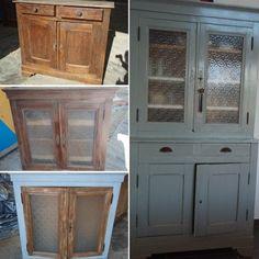 Les rénovations de meubles les plus réussies des lecteurs : Un vaisselier remis à neuf - Linternaute.com Bricolage