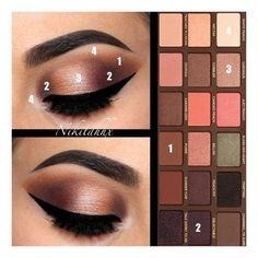 Makeup Eye Looks, Eye Makeup Steps, Smokey Eye Makeup, Cute Makeup, Simple Makeup, Eyeshadow Makeup, Fast Makeup, Perfect Makeup, Smokey Eyeshadow Tutorial