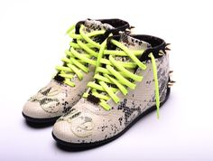 I WANT/NEED !!!!!! Melody Ehsani x Reebok Spiked Python Sneackers
