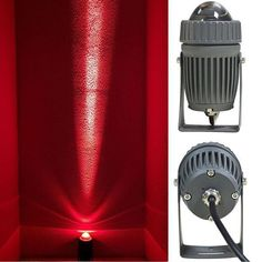 Corbin - Water-Proof Uni-Direction Spotlight – Warmly Outdoor Flood Lights, Outdoor Lighting, Angles, Spotlight Lamp, Lumiere Led, Red Blue Green, Polished Chrome, Feature Walls, Bulb