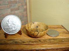 Dollhouse Miniature 1:12 Cookware & Tableware Antique Replica Bowl OOAK #Z12 #HandcraftedMiniaturesbyOppi