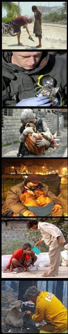 Faith In Humanity Restored – 20 Pics Tearjerkers