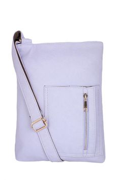 """Premium style trendy cross body satchel. Front pocket zip detail. Multi inner compartments. Adjustable strap. Matte faux leather finish.  Measures:12"""" X 11""""   Vegan Leather Crossbody by Fashion Style. Bags - Cross Body Canada"""