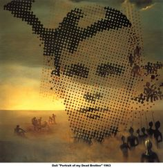 Salvador Dali - Portrait of my Death Brother