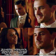 TVD 7x06. OMG Enzo wears a suit!!!!! And are Enzo and Bonnie together now or something?