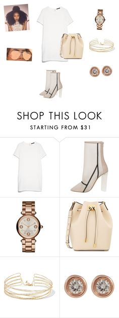 """""""Daisy"""" by jbell13 on Polyvore featuring MANGO, adidas Originals, Michael Kors, Kenneth Jay Lane, Ron Hami and Quay"""
