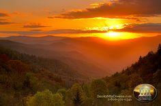 smokey mountain in Gatlinburg, Tennessee