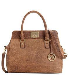 fd733eca531e MICHAEL Michael Kors Astrid Large Satchel Handbags   Accessories - Macy s