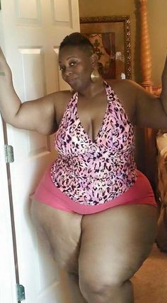 Medium bbw woman fat black