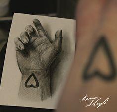 Hand Drawing By Kenn Skogli