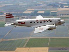 TWA - Transcontinental and Western Air (Museum of Flight), Douglas DC-2-118B (NC13711)