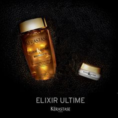 Discover a new degree of indulgence with 2 new precious gestures from #ElixirUltime. Sublimate and NOURISH your hair with the Bain Riche shampoo, specifically designed for thick hair and REGENERATE your locks on the go with the magical Solid Serum.