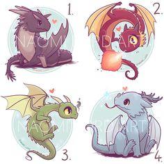 Chibi and kawaii dragons Cute Kawaii Drawings, Cute Animal Drawings, Desenhos Harry Potter, Cute Harry Potter, Harry Potter Dragon, Harry Potter Drawings, Cute Dragons, Dragon Art, Fire Dragon