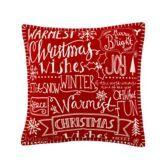 Sainsbury's Christmas Wishes Cushion 43x43cm £13.50 2015
