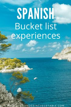 Spain is a beautiful country with so much to see and do. So here's my ultimate Spanish bucket list featuring the experiences in Spain that you cannot miss. #Spain #Spaintravel #Spanishbucketlist #Experiencesinspain Europe Destinations, Europe Travel Tips, European Travel, Travel Guides, Travel Articles, Travel Photos, Cool Places To Visit, Places To Travel, Places To Go