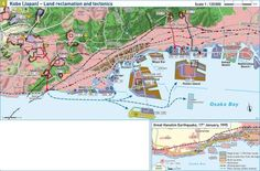 Land reclamation in Japan