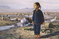 Wai Ming pinta com sensibilidade combinada com realismo surpreendente | #Artistas, #Jmj, #Pintores, #WaiMing