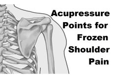 Acupuncture For Pain Relief Acupresure Points for Frozen Shoulder Pain - Massage Monday Frozen Shoulder Pain, Frozen Shoulder Exercises, Frozen Shoulder Treatment, Shoulder Workout, Shoulder Stretches, Acupressure Therapy, Acupressure Treatment, Acupressure Points, Acupressure Massage