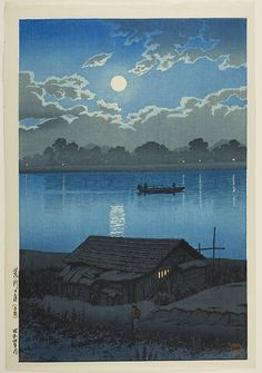 View and purchase art by Kawase Hasui and other Japanese artists. Extensive online gallery includes hundreds of fine prints. Japanese etchings, wood block, silkscreen, stencil from famous artists. Japan Illustration, Art Occidental, Japanese Woodcut, Art Chinois, Art Asiatique, Japanese Landscape, Art Japonais, Japanese Painting, Japanese Prints