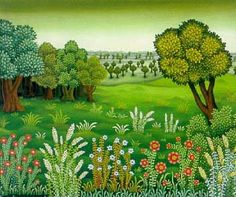 Josip Generalic    b. 1936 History of Art: Folk Art, Naive Art
