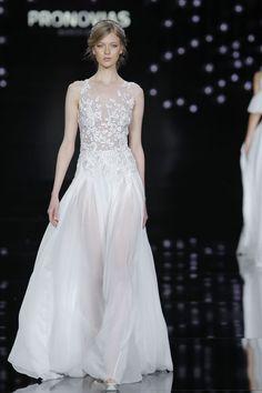 Trend abiti da sposa 2017 dalla Barcelona Bridal Week