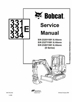 Pdf download Caterpillar Cat 301.5, 301.6 and 301.8 Mini