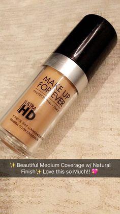 Makeup Forever Ultra HD Foundation  ✨Follow CindyLBB✨ Instagram: @cindyslbb Pinterest: @cindyslbb Snapchat: @cindyslbb