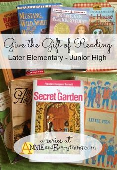 The third part in a series about giving books for gifts. My picks of classic children's literature for girls.