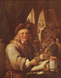 1680, l´Alchimiste, autoportrait de Teniers âgé de 70 ans(551x699, 143Kb)