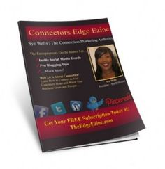 are you on our list.... The   Connector's Edge Ezine will be released in a few days... don't miss out! xo