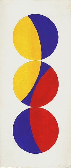 Leon Polk Smith Untitled, 1968, acrylic and graphite on paper, 19 x 8-3/8 inches