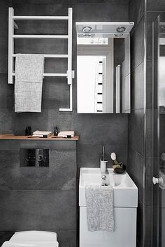 Radiadores estilo baño blanco