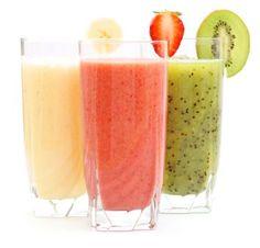 Smoothie Romaine Cilantro Avocado Watermelon Nectarine Strawberry Chia Lime Juice Recipe