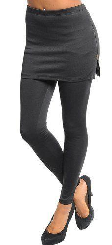 Stanzino Women's Leggings with Skirt Stanzino. $19.00